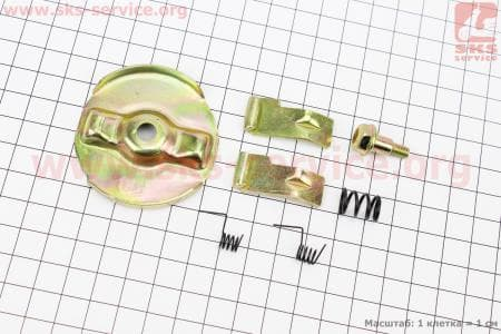 Ремкомплект ручного стартера (кулачок-2шт, пружина-3шт, болт, шайба) дл мотоблоков 168F/170F/177F/188F/190F
