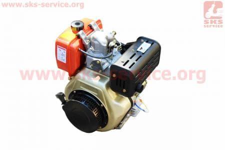 Двигатель мотоблочный в сборе под шлиц Ø25мм+стартер 9л.с. 186FЕ (HT-135)