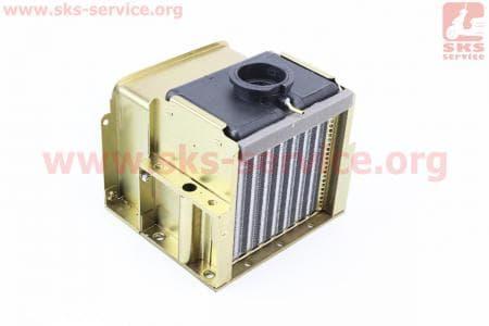 Радиатор R190N (алюминий) Тип №2 для мотоблоков