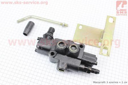 Переключатель гидравлический BDL-L40-MT + кронштейн для мототрактора