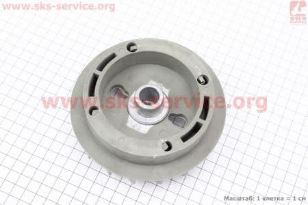 Крыльчатка (вентилятор) пластиковая 0,8кВт (ET-950) для генератора