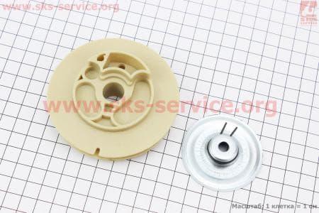 Шкив ручного стартера к-кт 2шт 0,8кВт (ET-950) для генератора