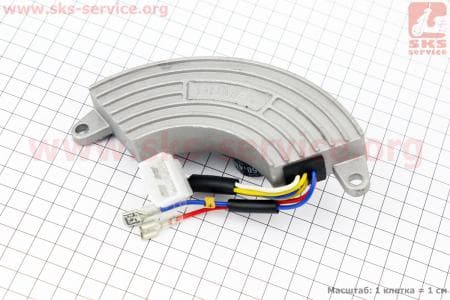 Реле напряжения (однофазное) 4-6кВт Тип №3 для генераторов
