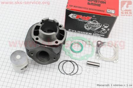 Цилиндр к-кт (цпг) Honda DIO ZX/AF34 50cc-40мм (палец 12мм)