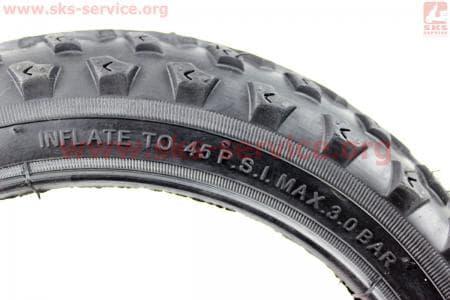 """Шина велосипедная 12""""x1/2х1,90 без камеры шипованная (защита 1ст.) 5041"""