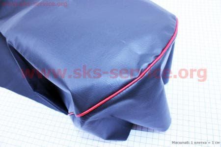 Чехол сиденья с красной каемкой для мотоцикла Минск