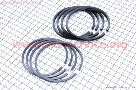 Кольца поршневые К-650, МТ9, МТ10 h=2,5мм 2р.на мотоцикл Днепр МТ, УРАЛ