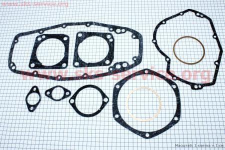 Прокладки двигателя к-кт 10шт (паранит, медь) для мотоцикла МТ