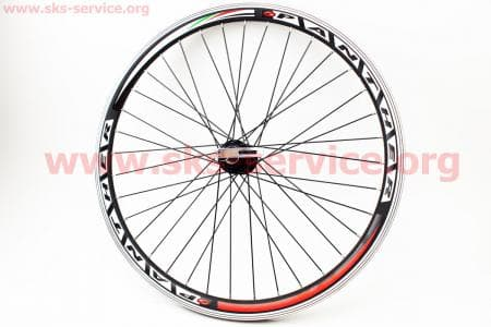 """Колесо велосипедное 24"""" заднее MTB """"капля"""" обод алюминиевый, втулка 14Gx36H в сборе, под вольнобег, крепл. эксцентрик """"PANTHER"""""""