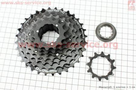 Кассета 8зв. 32,28,24,21,18,16,14,12Т, черная ACERA CS-HG200для велосипеда