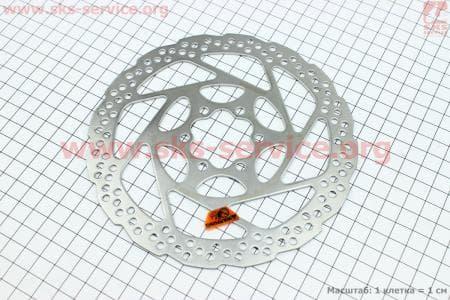Тормозной диск 160мм, под 6 болтов, SM-RT56-Sдля велосипеда