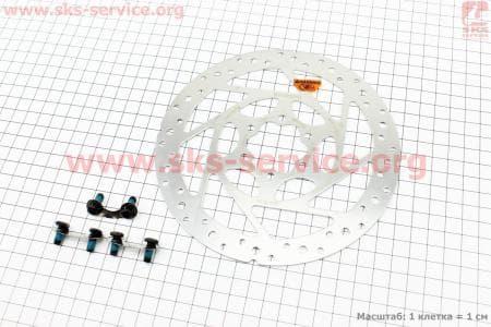Тормозной диск 160мм, под 6 болтов, SM-RT51для велосипеда