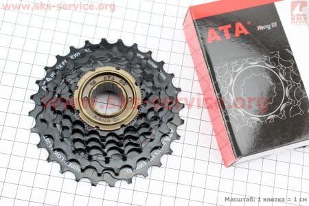 Вольнобег 6зв. 28,24,21,18,16,14Т index, черный KDF-612для велосипеда
