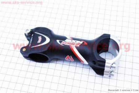 Вынос руля MTB алюминиевый 28,6x31,8х95мм, черный D298B-8 для велосипеда