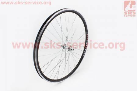 """Колесо велосипедное 28"""" переднее """"капля"""" обод алюминиевый, втулка 14Gх36Н в сборе, крепл. гайка """"SCORPION"""""""