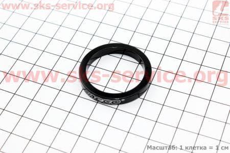 Кольцо передней вилки 1-1/8 - h5мм, черноедля велосипеда