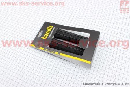 Ручки руля 125мм, черные VLG-975 для велосипеда