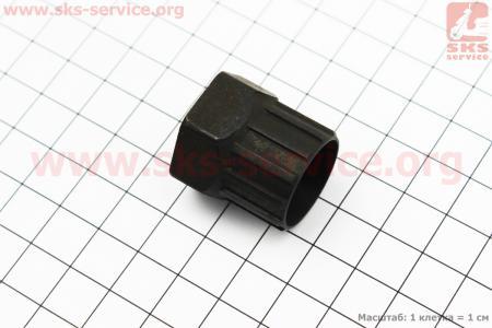 Ключ снятия кассеты, черный KL-9715B для велосипеда