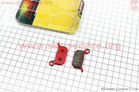 Тормозные колодки диск. тормоз к-кт (Formula 4Racing/B4, 4-piston O2, 2-piston B4)для велосипеда