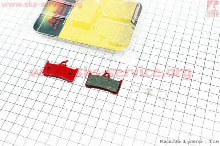 Тормозные колодки диск. тормоз к-кт (Shimano BR-M755, Grimeca system 8, Sram 9,0)для велосипеда