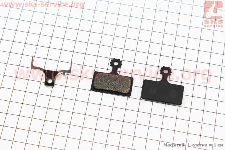 Тормозные колодки диск. тормоз к-кт (Shimano BR-M985, XTR 2011), YL-1016 для велосипеда
