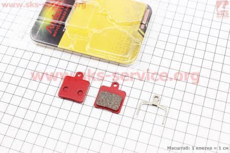 Тормозные колодки диск. тормоз к-кт (Hope Mini). YL-1031 для велосипеда