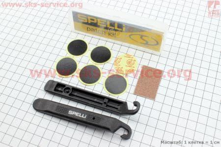 Рем. к-кт для быстрого ремонта вело шин (безклейный), SBT-129B для велосипедов