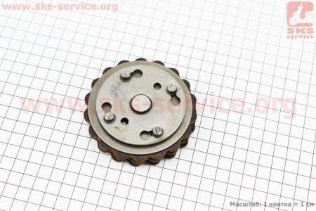 Диски сцепления фрикционный, к-кт (диски, столик)на мопед  Карпаты Тип №2