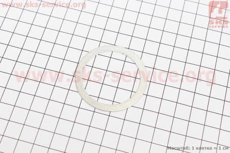 Прокладка головки цилиндра (алюминевая)на мопед КАРПАТЫ