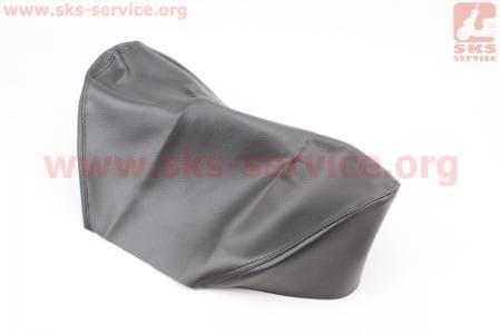 Чехол сиденья на мопед КАРПАТЫ (эластичный, прочный материал) черный