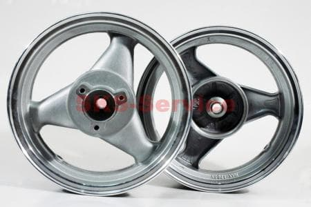 D21 Диск литой задний (диск. торм.) MT3,50x12 для китайских скутеров