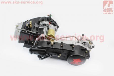 Двигатель скутерный в сборе 150куб (длинный вариатор) для скутера
