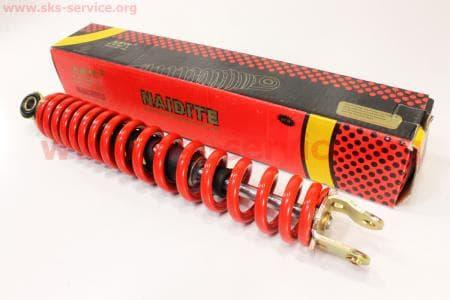 Амортизатор задний 310мм (цвет - красный)на скутера разных моделей (Китай, импорт)