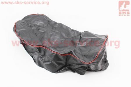 Чехол сиденья с красной каемкой на мотоцикл Восход