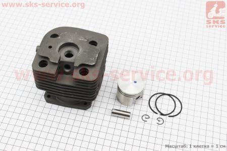 Цилиндр к-кт (цпг) 40мм Stihl FS400/FR400 120/200/250/300/350 к ТРИММЕРАМ (мотокосам)