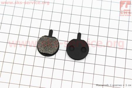 Тормозные колодки диск. тормоз к-кт (Hayes MX2,3, Sole, Artec ADC-01), YL-1025 для велосипеда