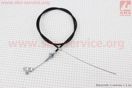 Трос сцепления (Вариант С) L=1600мм с вилкой для мотоблока