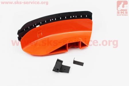 Защита ножа пластмассовая с резинкой (лопух) Stihl FS-44/55/80/90/100/130/310/450 для мотокос