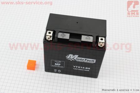 Аккумулятор 12Аh YTX14-BS(гелевый) 150/85/145мм, 2018