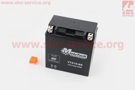 Аккумулятор 14Аh YTX16-BS(гелевый) 150/85/160мм, 2018
