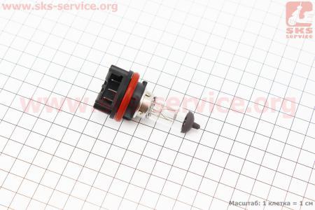 Лампа фары HS5 (B245) 12V 35/35W (Suzuki AD/Lets - 4T), пластмасс. цоколь