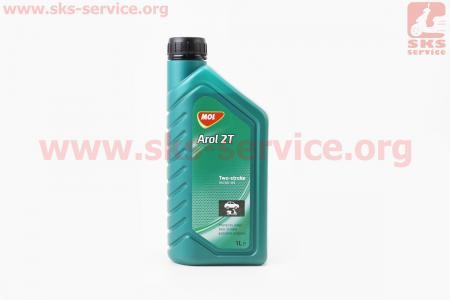 2T Arol - масло минеральное для 2-х тактных двигателей, 1л
