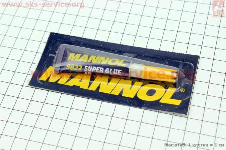 """Клей многофункциональный, гелевый """"Super Glue GEL"""", 3g"""