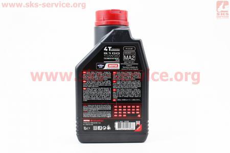 4T-5100 Technosynthese 10W-30 масло для мотоциклетных двигателей, полусинтетическое, 1л