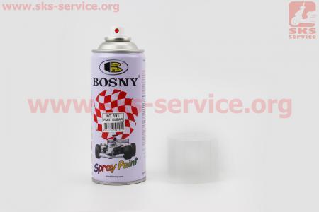 BOSNY-№191 Лак матовый, Аэрозоль 400ml