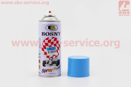 "BOSNY- №15 Краска-акрил ""ГОЛУБОЙ"", Аэрозоль 400ml"