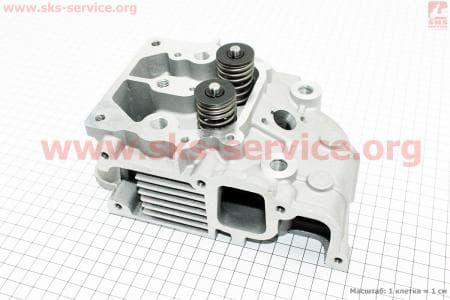 Головка 186F Витязь/Кама в сборе для дизельного двигателя F178/ F186 - 6/9 л.с.