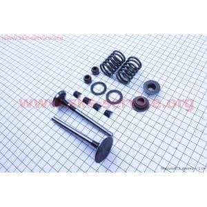 Клапан впускной, выпускной к-кт 14шт 186F для дизельного двигателя F178/ F186 - 6/9 л.с.