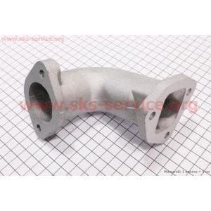 Коллектор воздушного фильтра (Г-образный) 186F для дизельного двигателя F178/ F186 - 6/9 л.с.