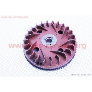 Маховик+венец 178F для дизельного двигателя F178/ F186 - 6/9 л.с.